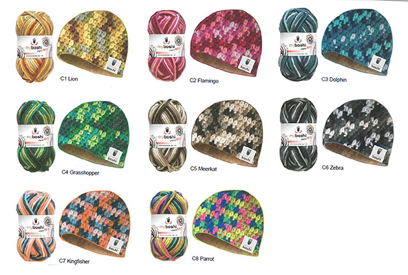 Nuancier MyBoshi original n°1 Multicolor