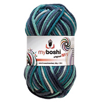 Laine MyBoshi original n°1 Multicolor