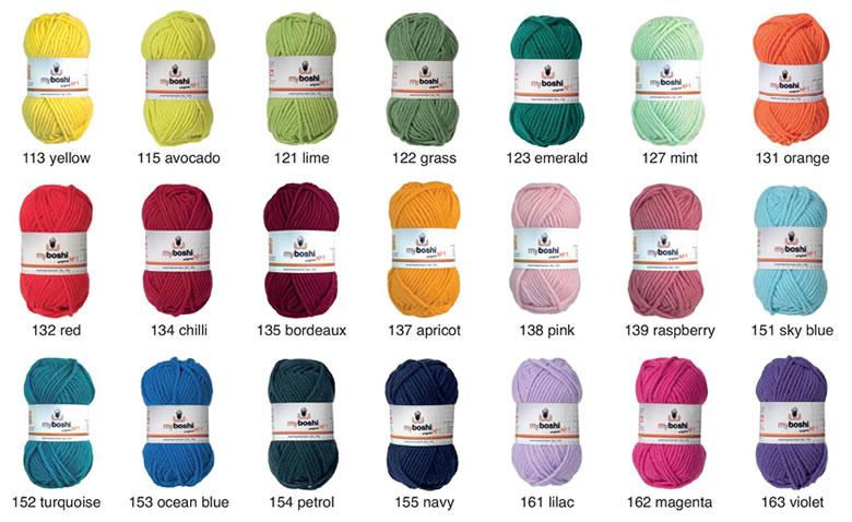 laine pour aiguille 7