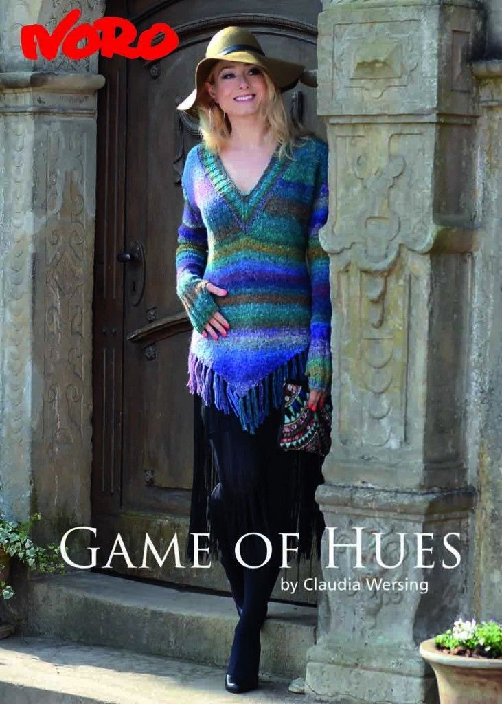 Modèles du catalogue Noro Game of Hues