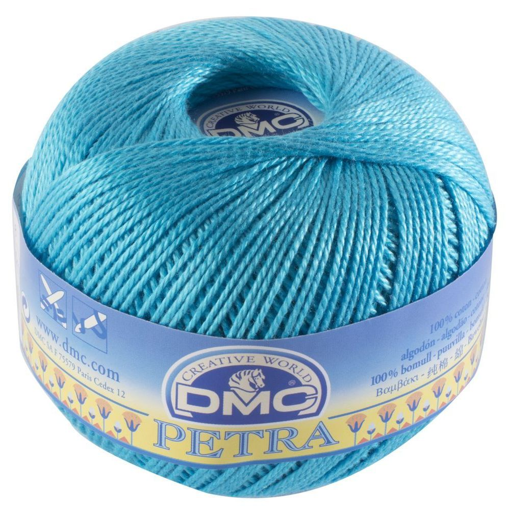 DMC Petra 100 gr n°8 53845 - Turquoise