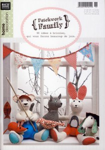 Catalogue Rico Design Patchwork Family - 99 idées