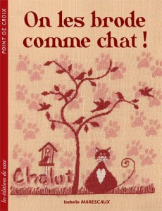 On les brode comme chat ! - Editions de saxe