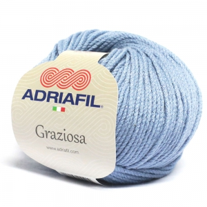 Adriafil Graziosa - Pelote de 50 gr - 26 bleu aviation