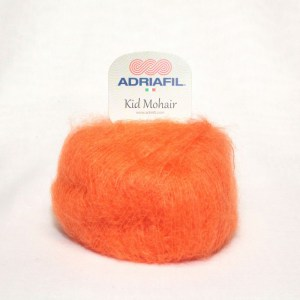 Adriafil Kid Mohair - Pelote de 25 gr - 94 orange
