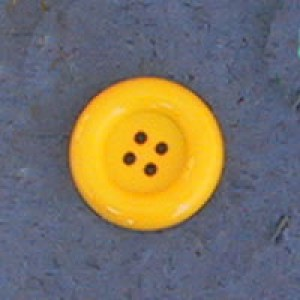 Bouton clown 38 mm - Jaune