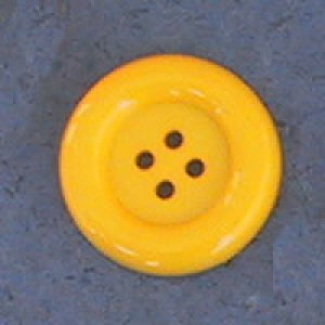 Bouton clown 51 mm - Jaune