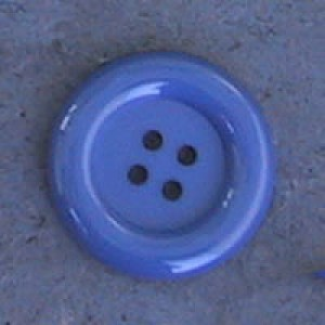 Bouton clown 51 mm - Bleu