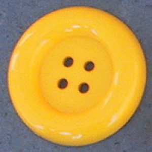 Bouton clown 70 mm - Jaune