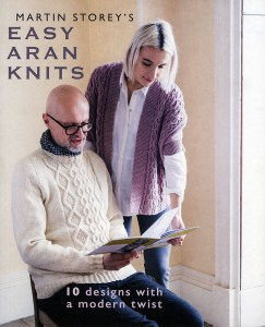 Catalogue Easy Aran Knits - Martin Storey pour Rowan