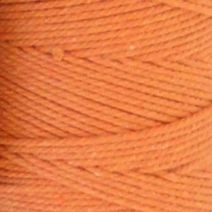 Coton à macramé 1 mm - Bobine de 200 gr - Coloris Orange
