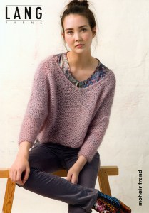 Flyer Lang Yarns Mohair Trend - Pull
