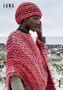 Flyer Lang Yarns Young - Bonnet et Poncho