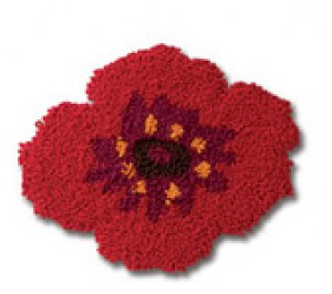 Kit DMC Magic Curl - Broche Coquelicot