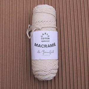 Cabl coton sp cial macram lebaufil jeu de mailles - Macrame pour debutant ...
