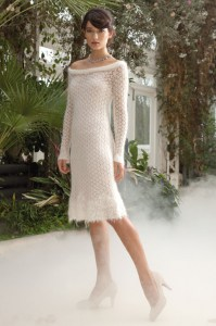 White dress en Rowan Kidsilk Haze