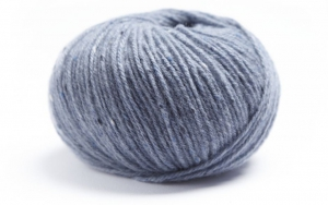 Lamana Como Tweed - Pelote de 25 gr - Coloris 54 Ice Blue
