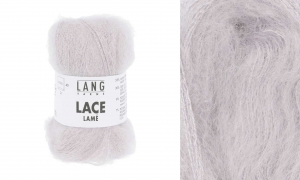 Lang Yarns Lace Lamé - Pelote de 25 gr - Coloris 0009 Rose