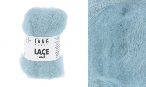 Lang Yarns Lace Lamé - Pelote de 25 gr - Coloris 0072 Acqua