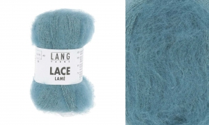 Lang Yarns Lace Lamé - Pelote de 25 gr - Coloris 0074 Atlantique
