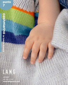 Livret Lang Yarns Punto 7 Cashmerino for babies and more