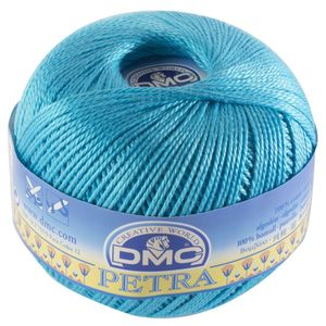 DMC Petra 100 gr n°3 53845 - Turquoise