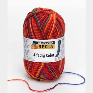 Regia 4 fils  50 gr Color