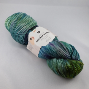 Rico Design Luxury Hand-Dyed Happiness - Echeveau de 100 gr - 008 Vert