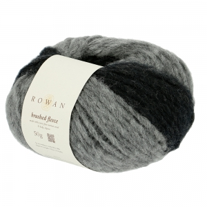 Rowan Brushed Fleece - Pelote de 50 gr - 274 Peat Degrade