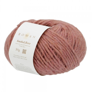 Rowan Brushed Fleece - Pelote de 50 gr - 276 Rose Degrade