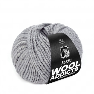 WoolAddicts by Lang Yarns - Earth - Pelote de 50 gr - Coloris 0003