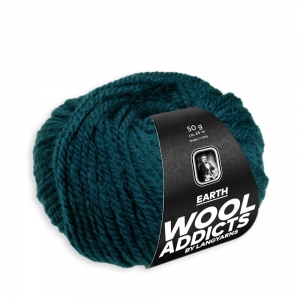 WoolAddicts by Lang Yarns Earth - Pelote de 50 gr - Coloris 0018