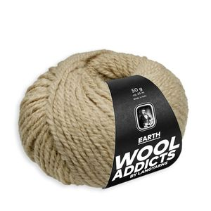 WoolAddicts by Lang Yarns - Earth - Pelote de 50 gr - Coloris 0039