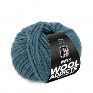 WoolAddicts by Lang Yarns - Earth - Pelote de 50 gr - Coloris 0074