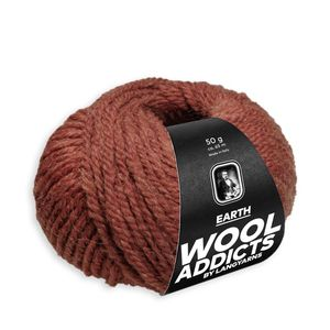 WoolAddicts by Lang Yarns - Earth - Pelote de 50 gr - Coloris 0075