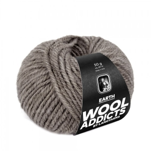 WoolAddicts by Lang Yarns - Earth - Pelote de 50 gr - Coloris 0096