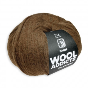 WoolAddicts by Lang Yarns Faith - Pelote de 50 gr - Coloris 0015