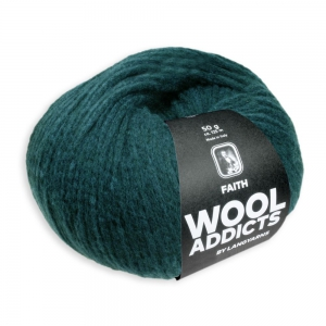 WoolAddicts by Lang Yarns Faith - Pelote de 50 gr - Coloris 0018