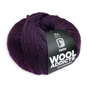 WoolAddicts by Lang Yarns Faith - Pelote de 50 gr - Coloris 0064