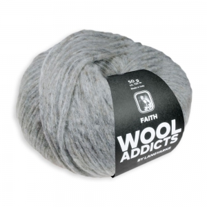 WoolAddicts by Lang Yarns Faith - Pelote de 50 gr - Coloris 0096