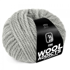 WoolAddicts by Lang Yarns - Fire - Pelote de 100 gr - Coloris 0003