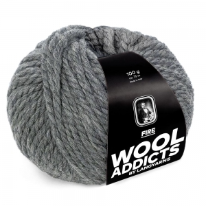 WoolAddicts by Lang Yarns - Fire - Pelote de 100 gr - Coloris 0005