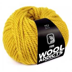 WoolAddicts by Lang Yarns - Fire - Pelote de 100 gr - Coloris 0011