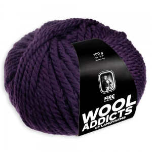 WoolAddicts by Lang Yarns Fire - Pelote de 50 gr - Coloris 0064