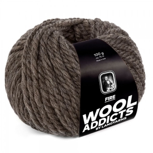 WoolAddicts by Lang Yarns - Fire - Pelote de 100 gr - Coloris 0067