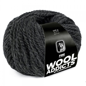 WoolAddicts by Lang Yarns - Fire - Pelote de 100 gr - Coloris 0070