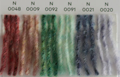 Nuancier WoolAddicts by Lang Yarns Air 2