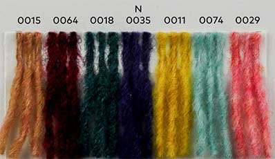 Nuancier WoolAddicts by Lang Yarns Air 3