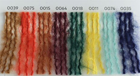 Nuancier WoolAddicts by Lang Yarns Water 2
