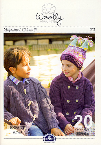 Modèles du catalogue Dmc Woolly n°2 Enfant